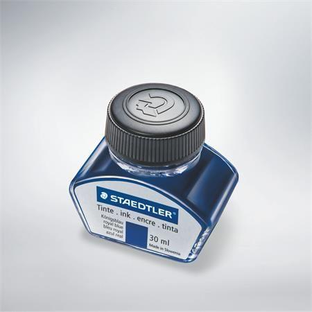 Atrament v sklenej fľaštičke, STAEDTLER, modrý, 30 ml