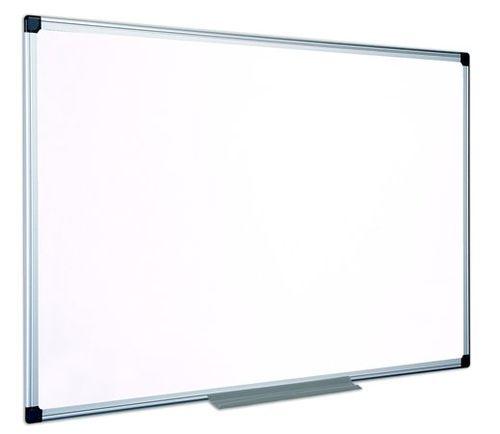 Biela tabuľa, nemagnetická, 60x90 cm, hliníkový rám, VICTORIA