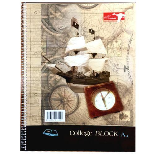 Blok A4 COLLEGE linajkový 70-listový