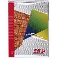Blok poznámkový Krpa A5 50 listov linajkový horná špirála
