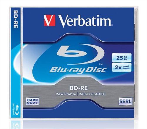 Blu Ray 25GB, 1-2x, prepisovateľné, VERBATIM