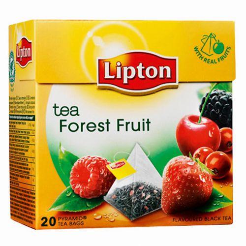 Čaj Lipton čierny Forest Fruit 34g pyramídy