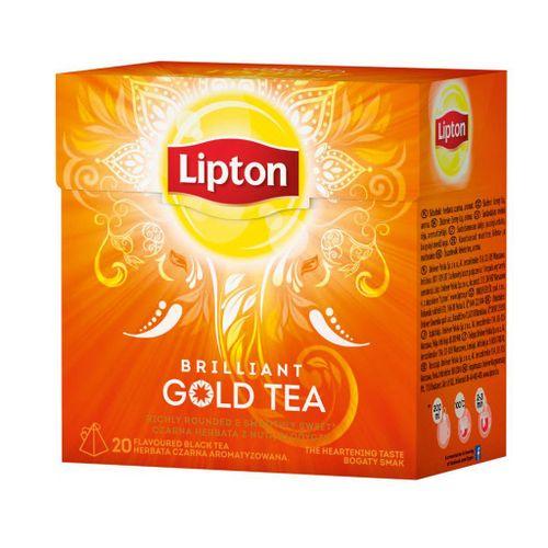 Čaj Lipton čierny gold tea 36g  pyramídy