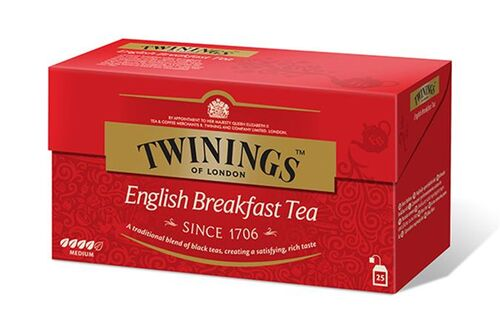 "Čaj Twinings ""English Breakfast"", 12x25*2g"