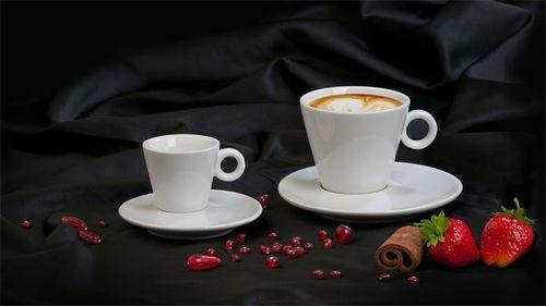 """Cappuccino šálka + podšálka, 220 ml, 6 ks/bal, biela, """"CoffeeTime"""""""