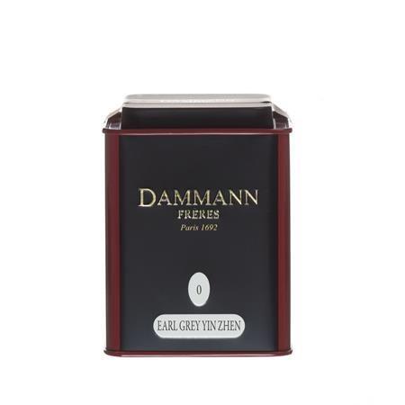 """Čierny čaj, v kovovej  krabici, 100 g, DAMMANN, """"Earl Grey Yin Zen"""" sypaný"""
