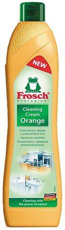 Čistiaci krém, 500 ml, FROSCH, pomaranč