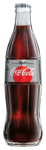 Coca-Cola light sklo 0,33 L/24