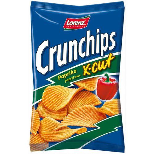 Crunchips X-cut paprika 90 g