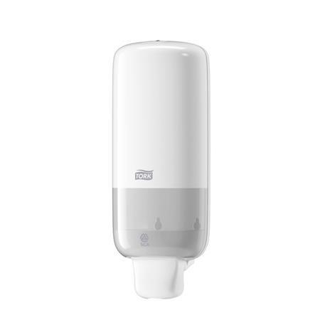 Dávkovač na penové mydlo, S4 systém, TORK, biely