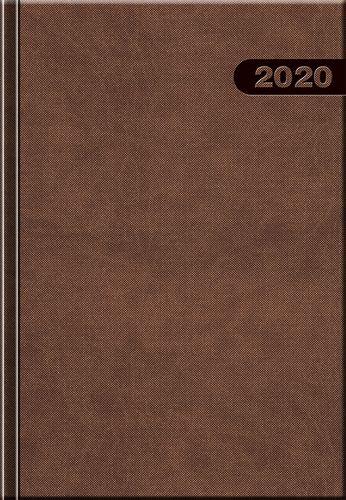 Denný diár A5 12M-PRIMAVERA hnedý