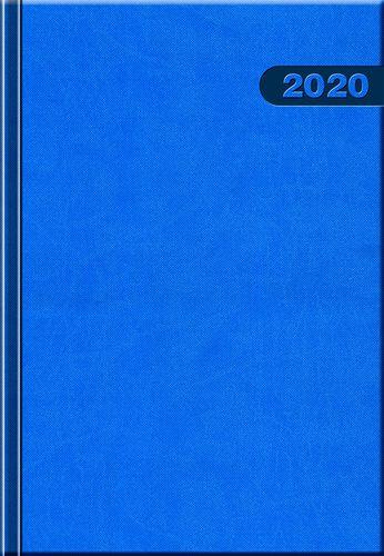 Denný diár A5 12M-PRIMAVERA modrý