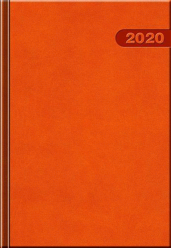 Denný diár A5 12M-PRIMAVERA oranžový