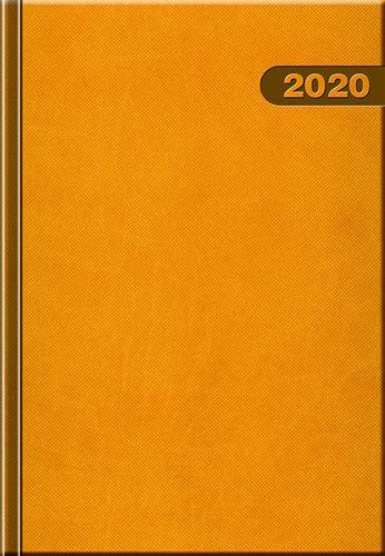 Denný diár A5 12M-PRIMAVERA žltý