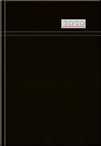 Denný diár A5 12M-TOSCANA čierny