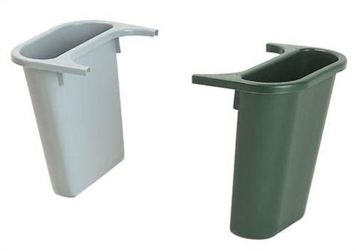 Doplnkové smetné koše, sivý/ zelený, 4,5l