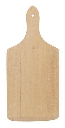 Doska na krájanie, s drevenou rúčkou., 30x14 cm