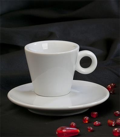 "Espresso šálka + podšálka, 70 ml, biela, ""CoffeeTime"""