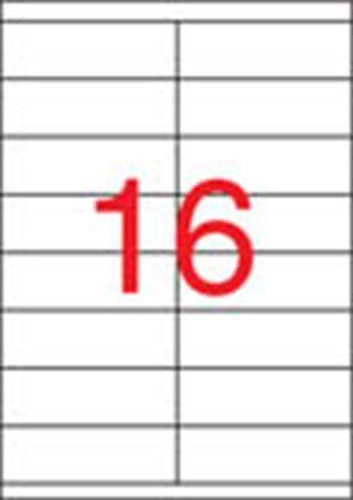 Etikety, univerzálne, 105x35 mm, APLI, 8000 etikiet/bal