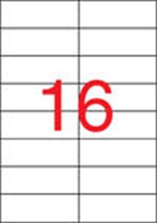 Etikety, univerzálne, 105x37 mm, APLI, 1600 etikiet/bal