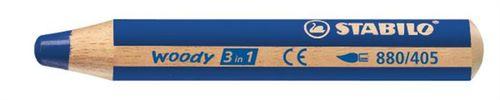 "Farebná ceruzka, hrubá, STABILO ""Woody"", ultramarine"