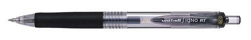 """Gélové pero, 0,2 mm, tlačidlový systém ovládania, UNI """"UMN-138"""", čierne"""