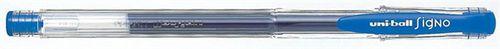 """Gélové pero, 0,3 mm, s uzáverom, UNI """"UM-100 Signo Micro"""", modré"""