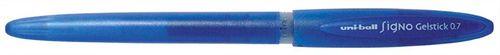 "Gélové pero, 0,4 mm, s uzáverom, UNI ""UM-170"", modré"