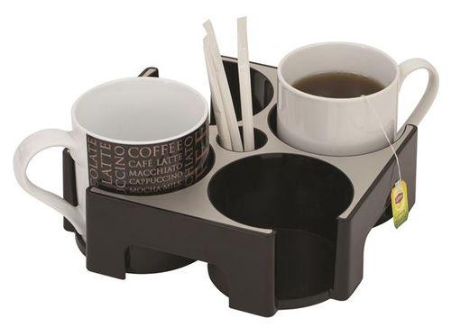 """Hliníkový stojan na šálky, """"Coffee break"""", ALBA"""