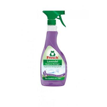 Hygienický čistiaci prostriedok, 500 ml, s rozprašovačom, FROSCH, levanduľa