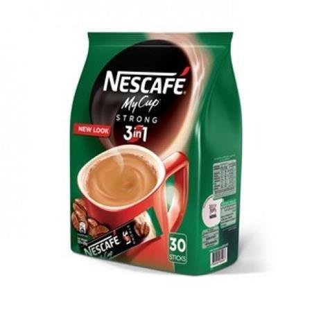 "Instant káva, stick, 10x18 g, NESCAFÉ 3in1 ""Strong"""
