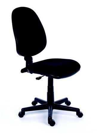 """Kancelárska stolička, čierne čalúnenie, čierny podstavec, MaYAH """"Happy"""""""