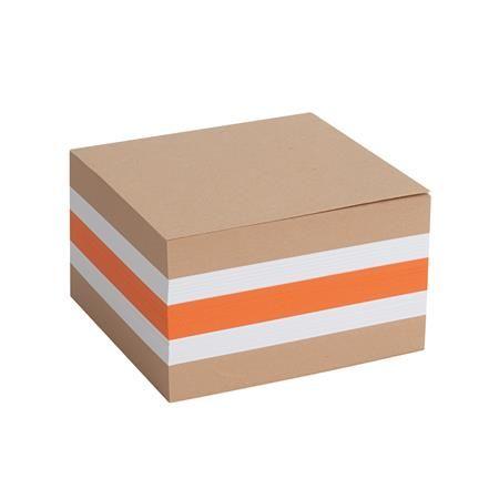 Kancelársky blok, 85x85x50 mm, farebný