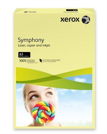 """Kancelársky papier, farebný, A3, 80 g, XEROX """"Symphony"""", svetložltý  (pastelový)"""