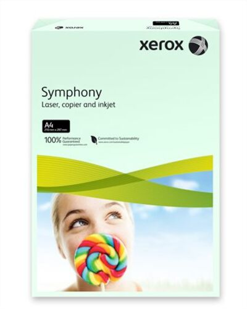 """Kancelársky papier, farebný, A4, 160 g, XEROX """"Symphony"""", svetlozelený (pastelový)"""