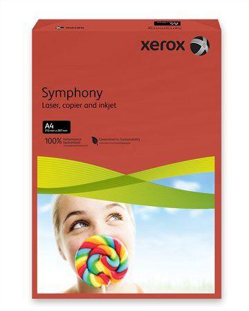 """Kancelársky papier, farebný, A4, 160 g, XEROX """"Symphony"""", tmavočervený (intenzívny)"""