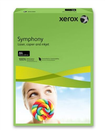 """Kancelársky papier, farebný, A4, 160 g, XEROX """"Symphony"""", tmavozelený (intenzívny)"""