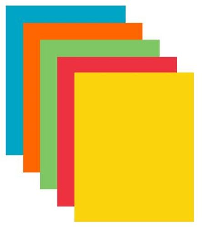 "Kancelársky papier, farebný, A4, 80 g, 5x50 listov, XEROX ""Symphony"", mix intenzívnych far"