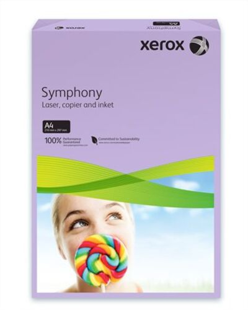 """Kancelársky papier, farebný, A4, 80 g, XEROX """"Symphony"""", fialový (stredný)"""