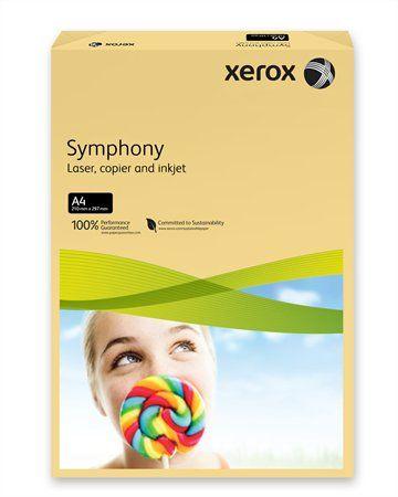 "Kancelársky papier, farebný, A4, 80 g, XEROX ""Symphony"", maslový (stredný)"