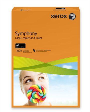 """Kancelársky papier, farebný, A4, 80 g, XEROX """"Symphony"""", oranžový (intenzívny)"""