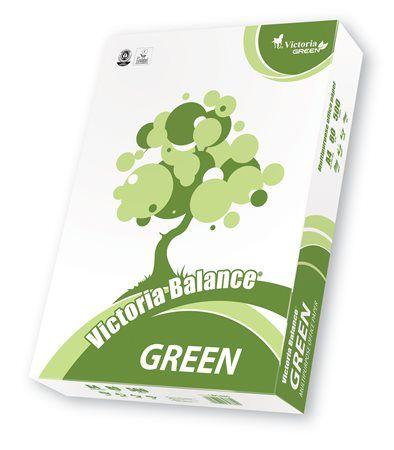 """Kancelársky papier, recyklovaný, A4, 80 g, VICTORIA """"Balance Green"""""""