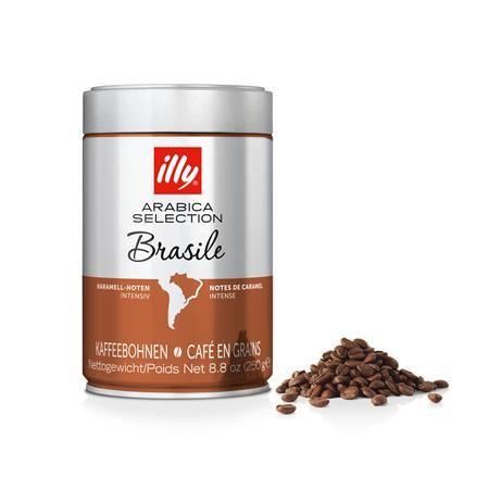 """Káva, pražená, zrnková, 250 g,  ILLY, """"Brasile"""""""