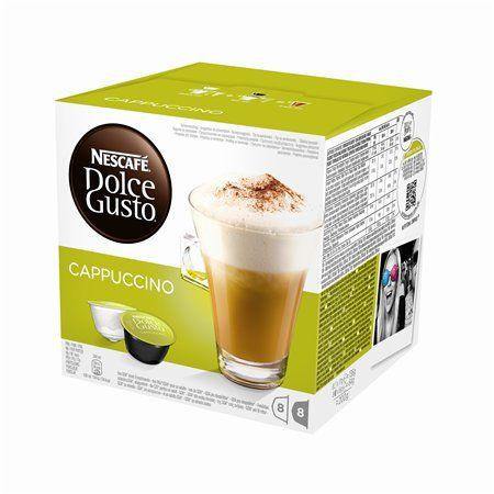 """Kávové kapsuly, 16 ks,  NESCAFÉ """"Dolce Gusto Cappuccino"""""""