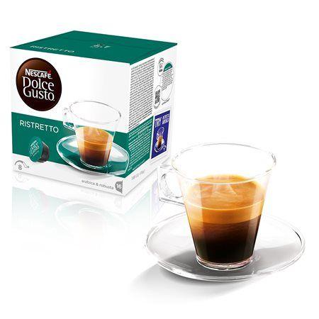 "Kávové kapsuly, 16 ks  NESCAFÉ ""Dolce Gusto Espresso Ristretto"""
