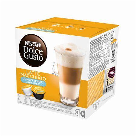 """Kávové kapsuly, 16 ks,  NESCAFÉ """"Dolce Gusto Latte Macchiato"""", bez cukru"""