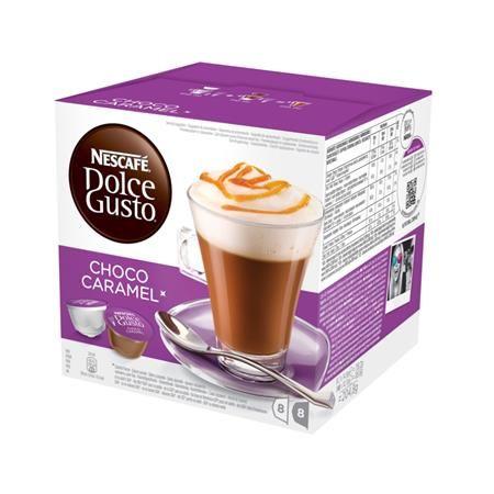 """Kávové kapsuly, 8x2 ks,  NESCAFÉ """"Dolce Gusto Choco Caramel"""""""