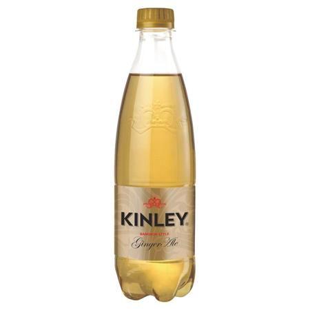 Kinley, príchuť: zázvor,  0,5 l