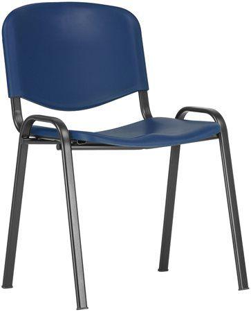 """Konferenčná stolička """"TAURUS PN, plastová, modrá"""