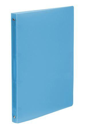 """Krúžkový šanón, 4 krúžky, 25 mm, A4, PP, VIQUEL """"Propyglass"""", modrý"""